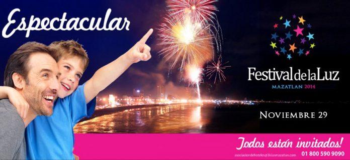 Festival de las Luces Mazatlán 2014
