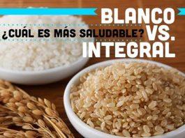 Arroz Blanco VS Arroz Integral - ¿Cuál es más saludable?