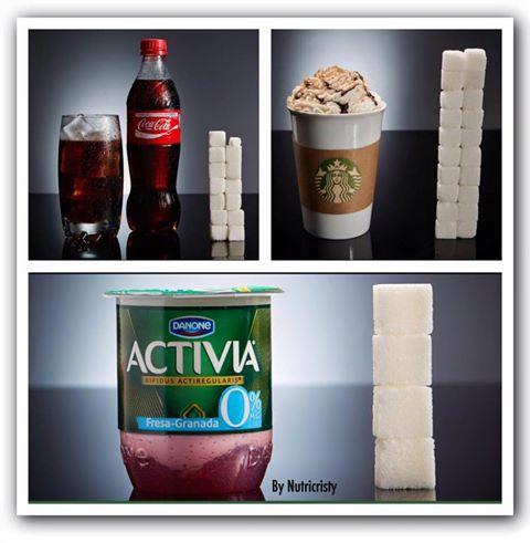 El azúcar en los alimentos y su impacto en nuestro organismo